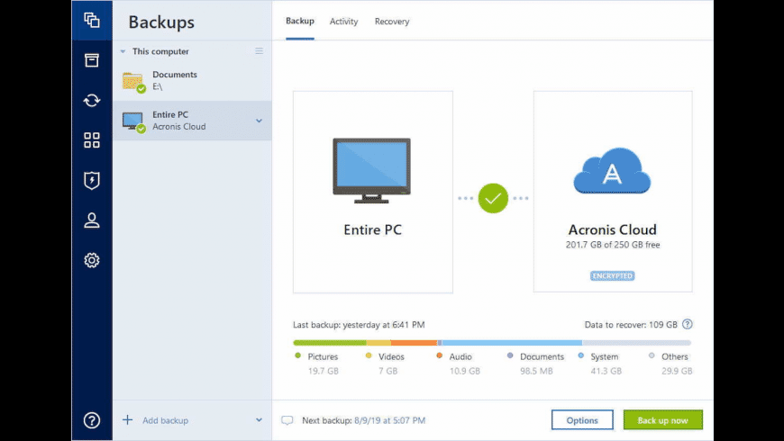 Acronis True Image for Mac - review, screenshots