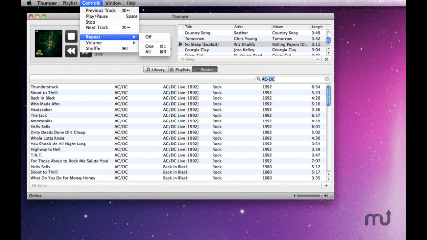 Thumper for Mac - review, screenshots