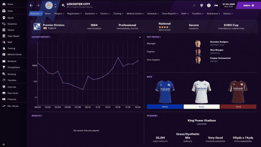Football Manager 2021 for Mac - review, screenshots