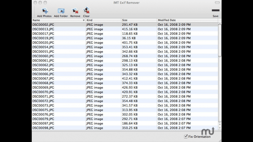 IMT Exif Remover for Mac - review, screenshots