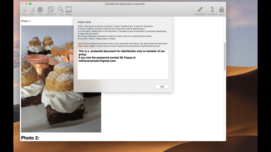 CryptoEdit for Mac - review, screenshots