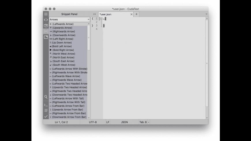 CudaText for Mac - review, screenshots
