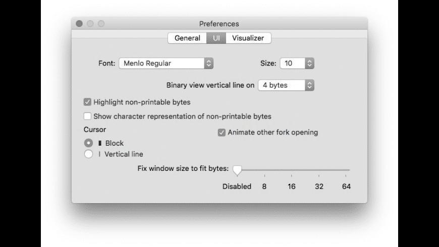 0xED for Mac - review, screenshots