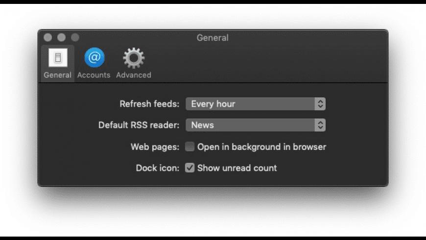 NetNewsWire for Mac - review, screenshots