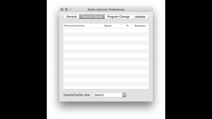 SysEx Librarian for Mac - review, screenshots