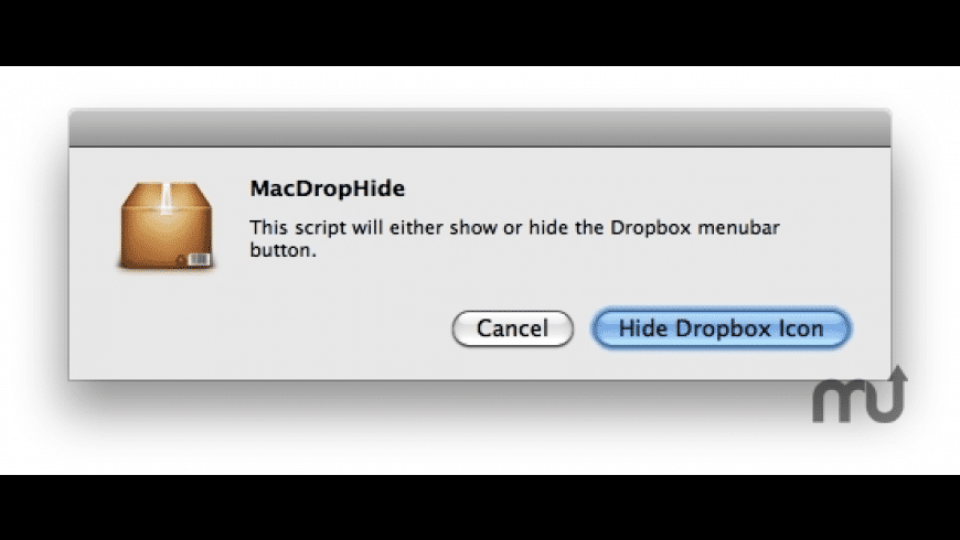 MacDropHide for Mac - review, screenshots