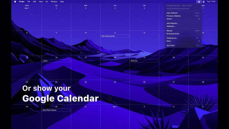 Plash for Mac - review, screenshots