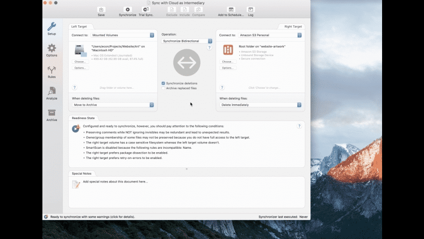 ChronoSync for Mac - review, screenshots
