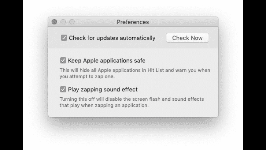 AppZapper for Mac - review, screenshots