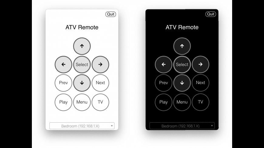 ATV Desktop Remote for Mac - review, screenshots