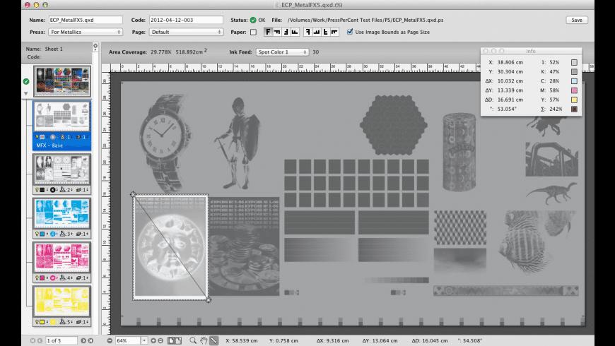 PressPerCent for Mac - review, screenshots
