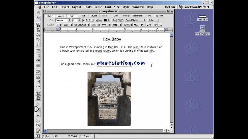 SheepShaver for Mac - review, screenshots