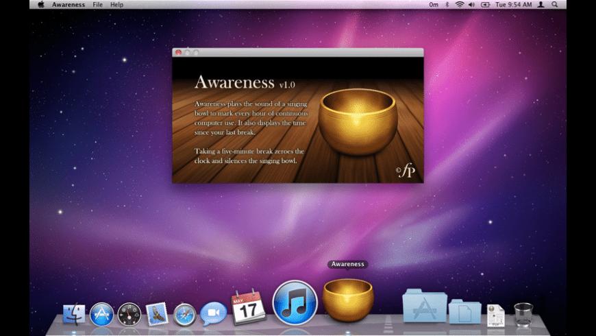 Awareness for Mac - review, screenshots