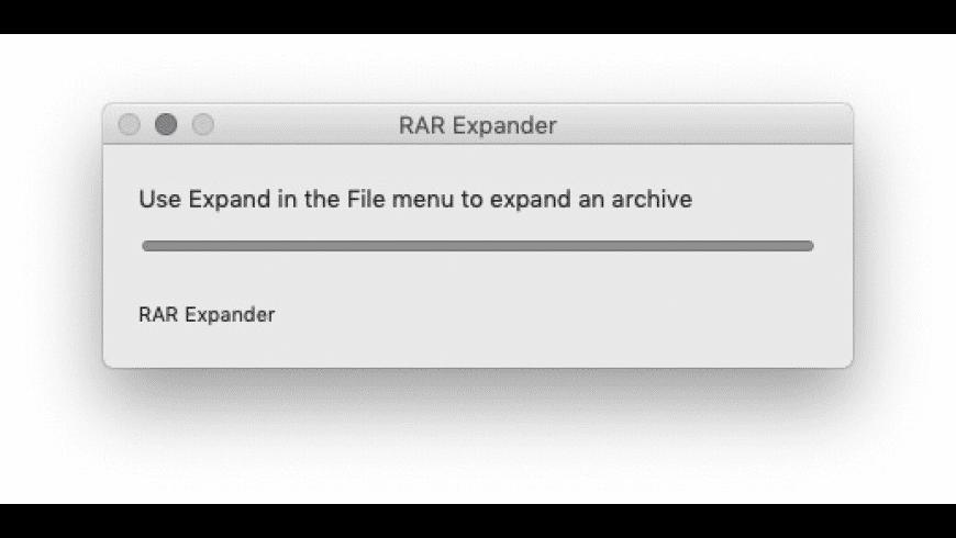 RAR Expander for Mac - review, screenshots