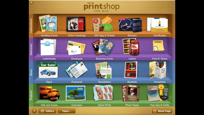 The Print Shop for Mac - review, screenshots