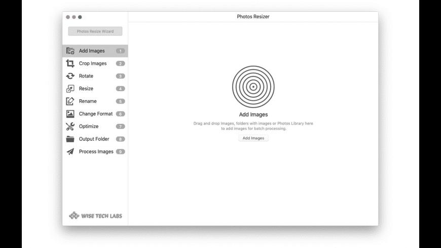 Photos Reziser for Mac - review, screenshots
