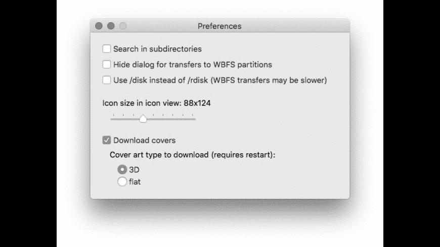 Witgui for Mac - review, screenshots