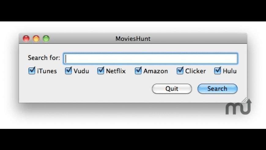 MoviesHunt for Mac - review, screenshots