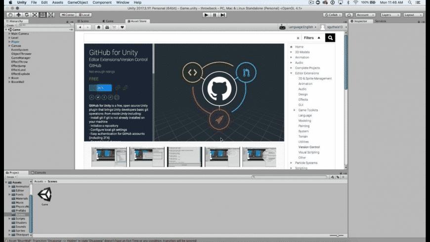 Unity for Mac - review, screenshots