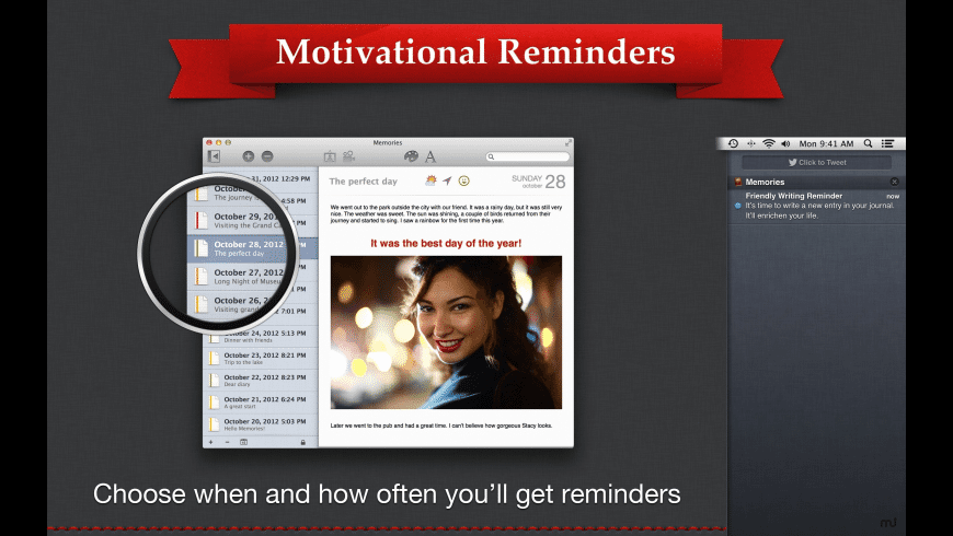 Memories for Mac - review, screenshots