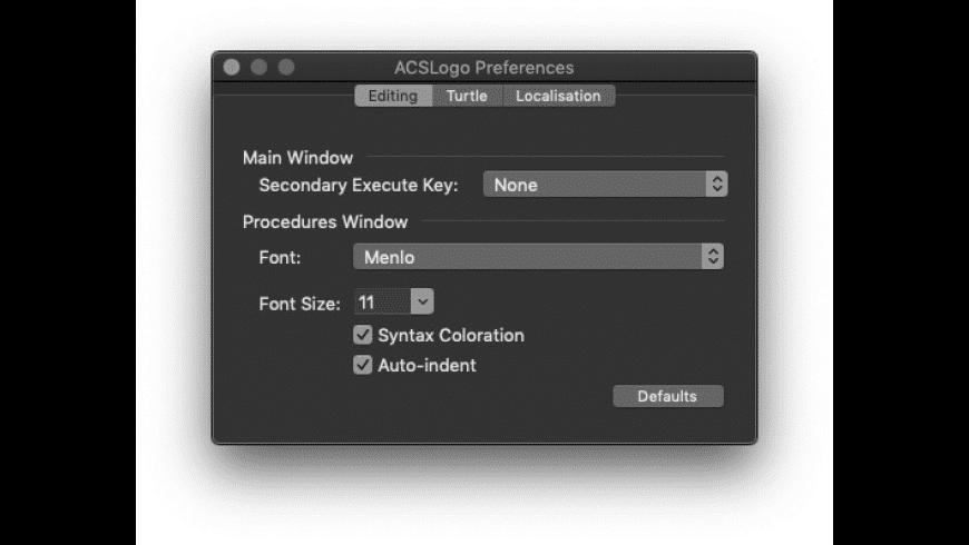 ACSLogo for Mac - review, screenshots