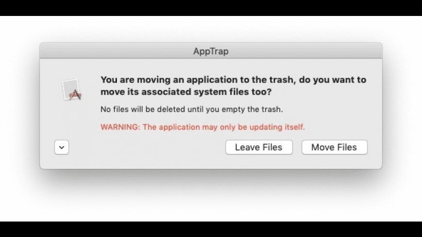 AppTrap for Mac - review, screenshots