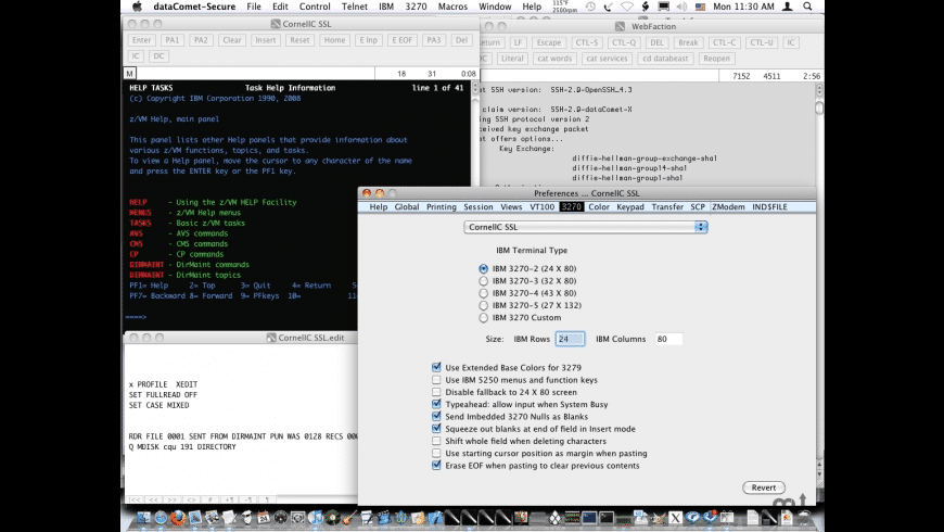dataComet-Secure for Mac - review, screenshots