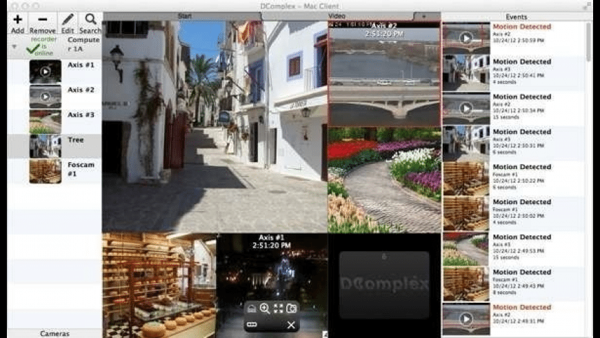 IP Camera Viewer for Mac - review, screenshots