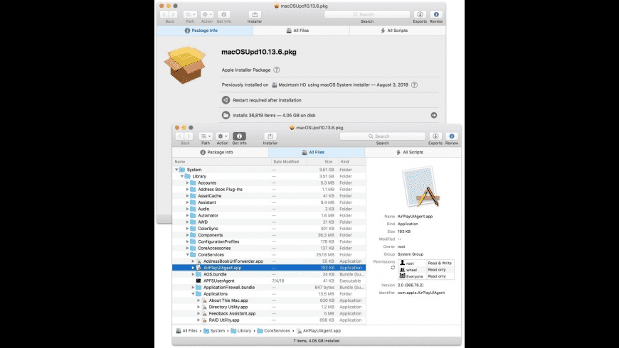 Suspicious Package for Mac - review, screenshots