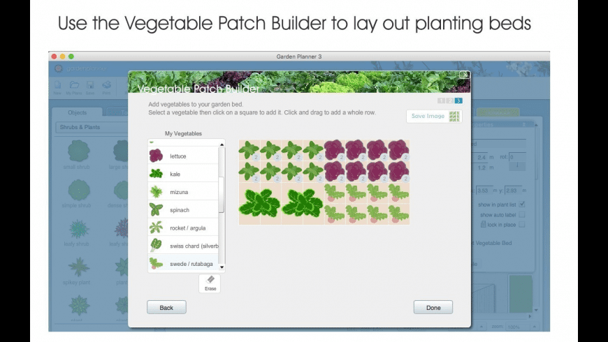 Garden Planner for Mac - review, screenshots