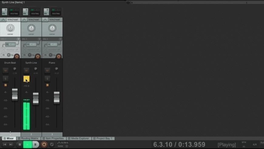 Reaper for Mac - review, screenshots