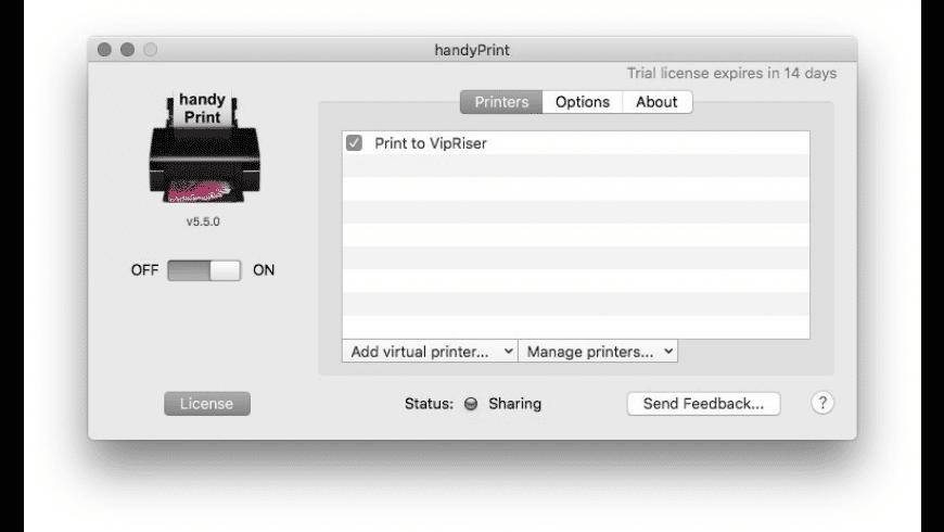 handyPrint for Mac - review, screenshots