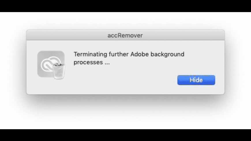 accRemover for Mac - review, screenshots