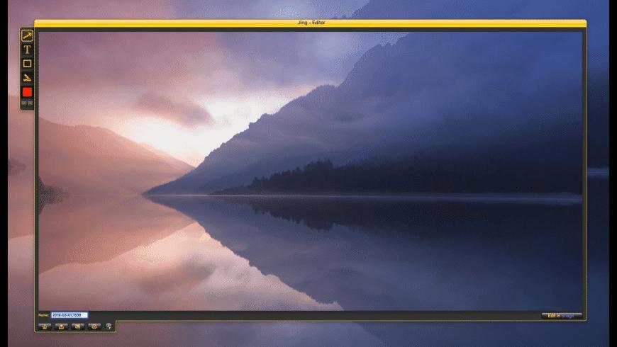 Jing for Mac - review, screenshots