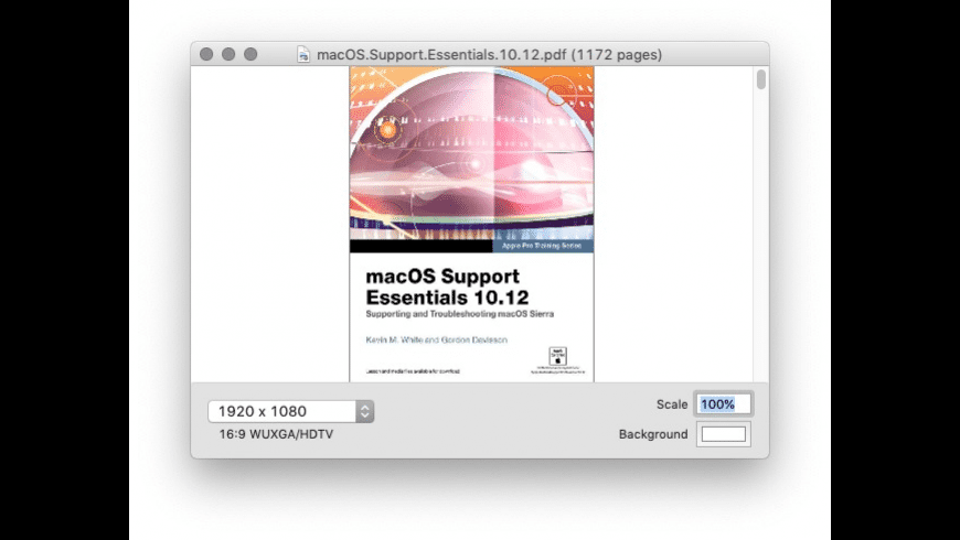 PDF to Keynote for Mac - review, screenshots