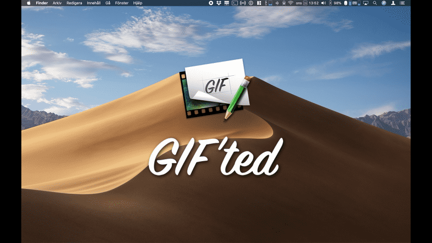 GIF'ted for Mac - review, screenshots