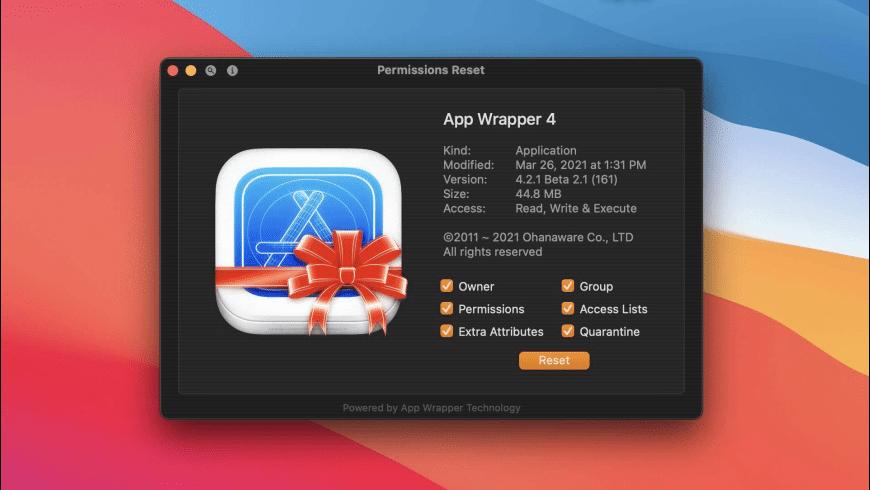 Permissions Reset for Mac - review, screenshots