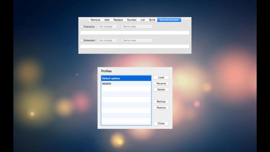 Rename for Mac - review, screenshots