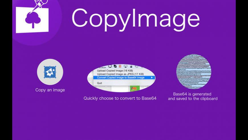 CopyImage for Mac - review, screenshots