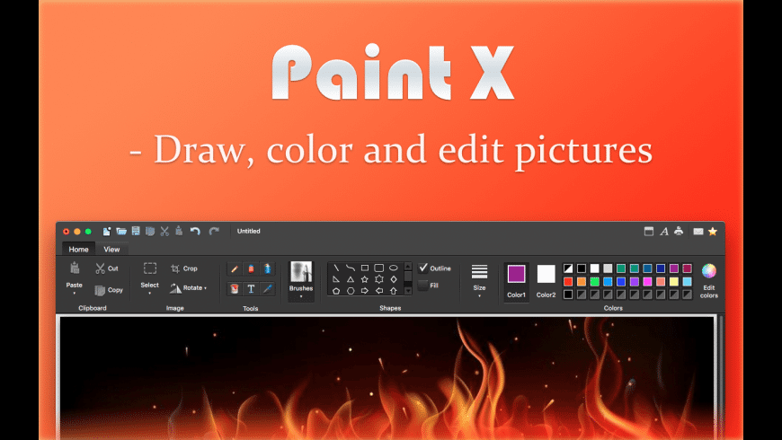 Paint X for Mac - review, screenshots