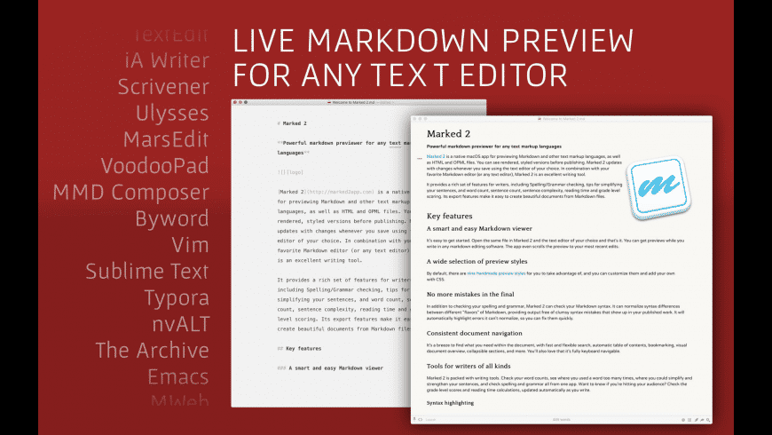 Marked for Mac - review, screenshots