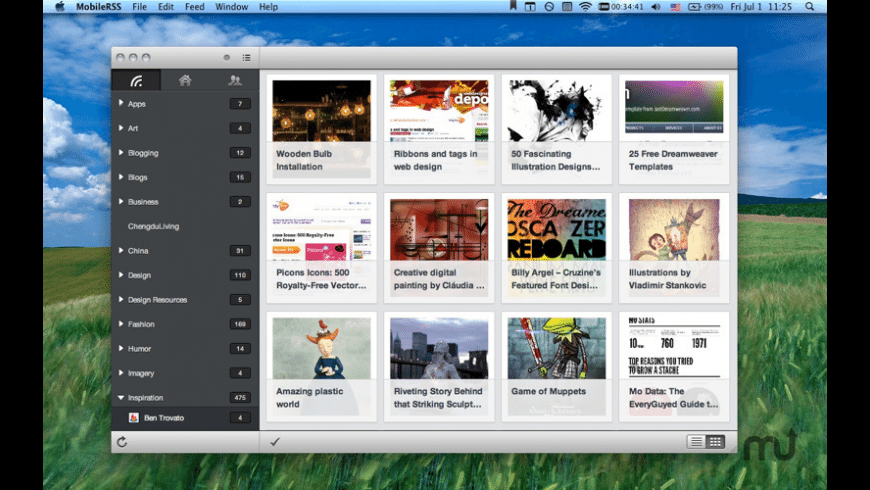 MobileRSS for Mac - review, screenshots