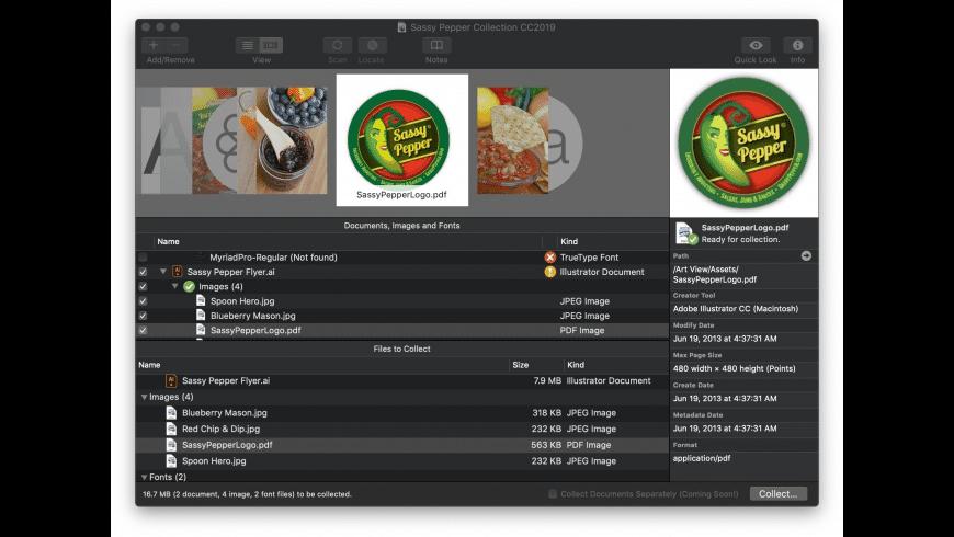 Art Files for Mac - review, screenshots