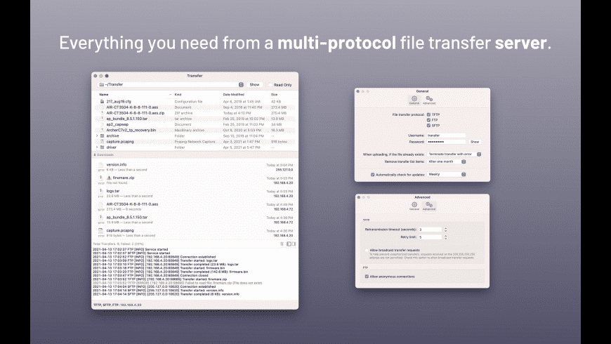 Transfer for Mac - review, screenshots