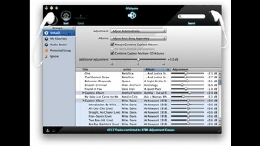 iVolume for Mac - review, screenshots