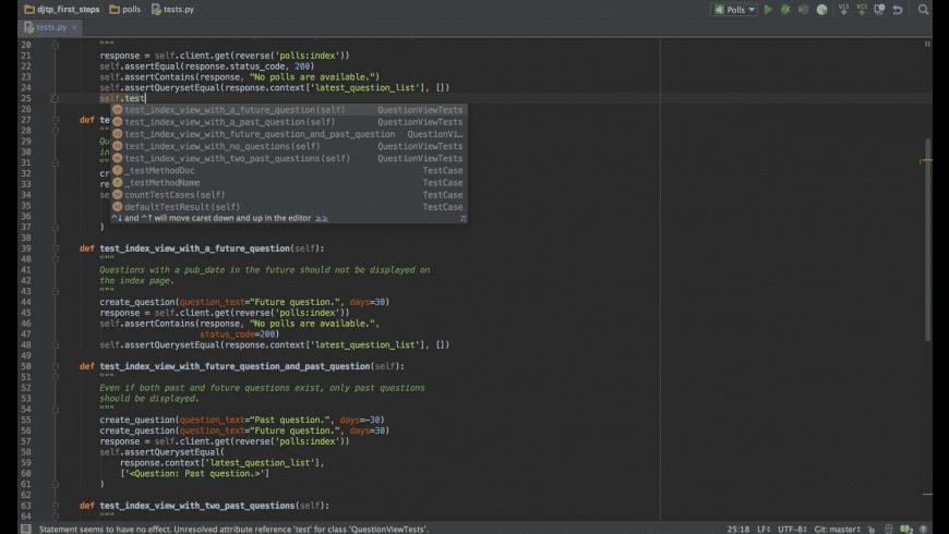 PyCharm Community for Mac - review, screenshots