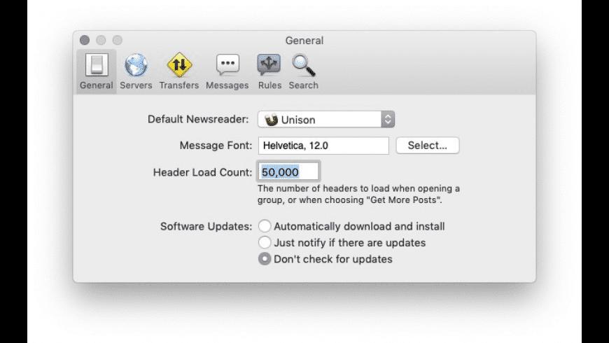 Unison for Mac - review, screenshots