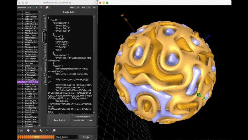 MathMod for Mac - review, screenshots
