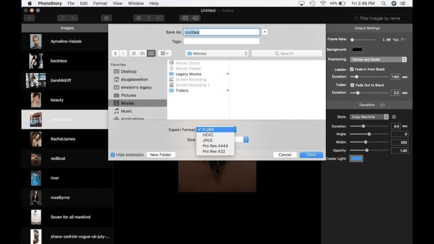 PhotoStory for Mac - review, screenshots