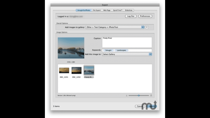 SmuginForiPhoto for Mac - review, screenshots